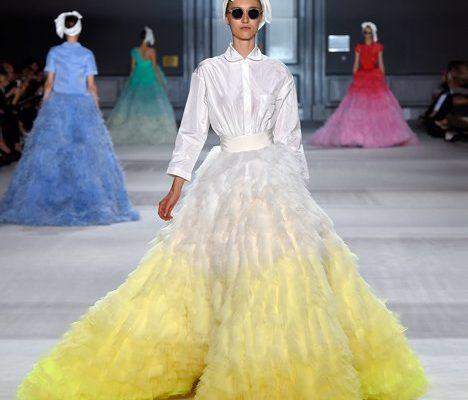 Коллекция пышных ретро-платьев от Джамбаттиста Валли