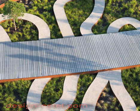 Садовые дорожки и настилы в ландшафтном дизайне