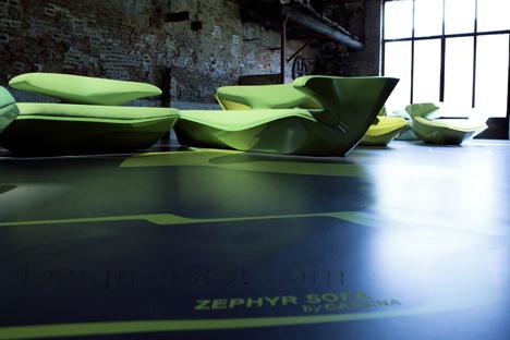 Диван Зефир - мягкая мебель от Захи Хадид