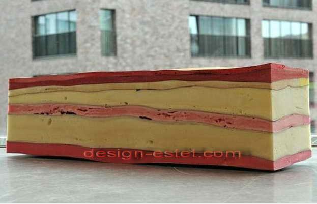 Диваны и скамейки из полимеров - полиуретановая дизайнерская мягкая мебель