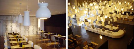 Оформление интерьера ресторана в эко-стиле