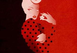 Модная фэшн-иллюстрация для Дольче Габбана