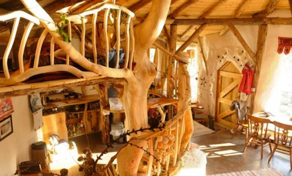 Дизайн интерьера дома хоббитов в Уэльсе, Великобритания