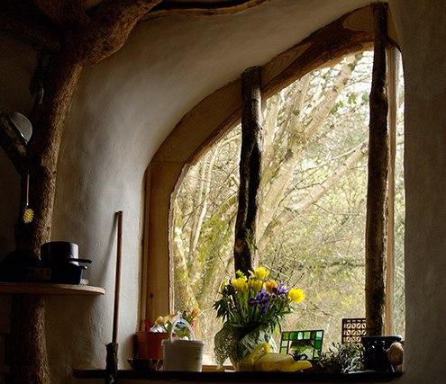 Дом в стиле хоббитов в Уэльсе, Великобритания