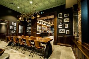 Дизайн интерьера кафе в американском стиле