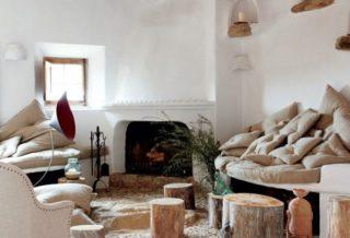 Камень в дизайне интерьера в эко-стиле
