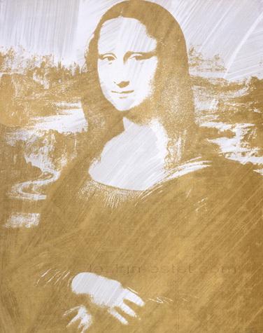 Джоконда Да Винчи на картине Энди Уорхола