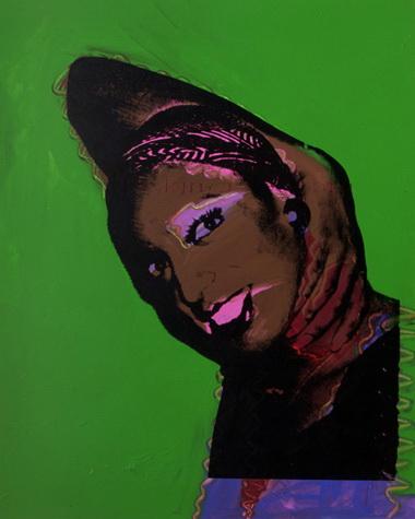 Картина Уорхола с восточными мотивами