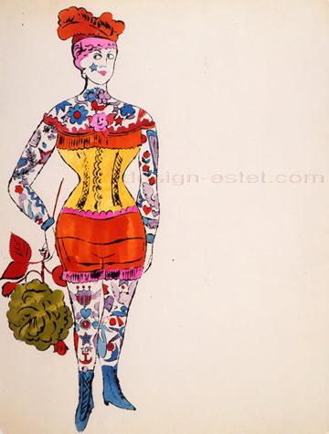 Француженка на картине Уорхола