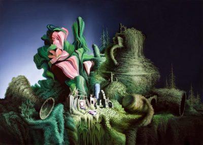 Картины современных художников в стиле сюрреализма
