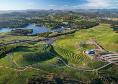 Ландшафтный дизайн парка в Австралии