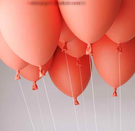 Воздушные шарики для летающей мягкой мебели