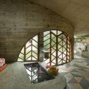 Необычный дизайн отеля в стиле этнический минимализм