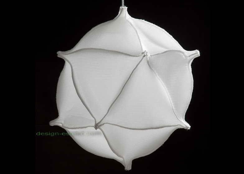 Современные тканевые плафоны для потолочных подвесных светильников