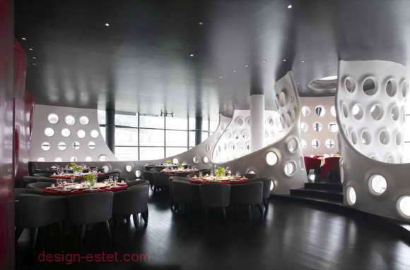 Мебель в стиле модерн для ресторана