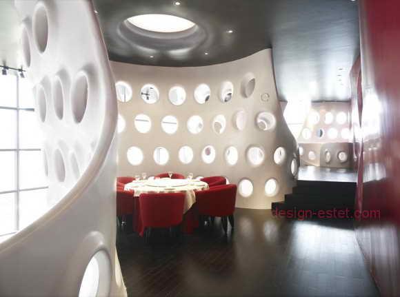 Светильники в стиле модерн для ресторана