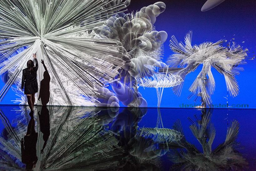 Световые инсталляции от Мигеля Шевалье