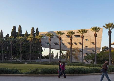 Реализованный проект Захи Хадид - архитектура ИФИ в Ливане