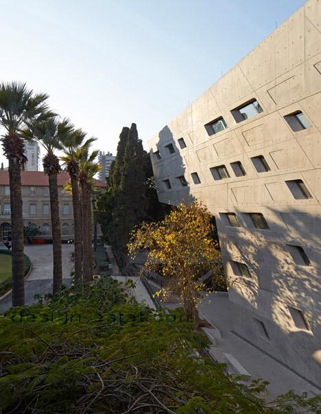 Реализованный проект Захи Хадид - модернизм в архитектуре здания ИФИ в Ливане