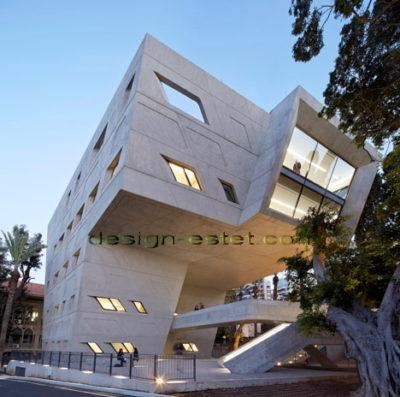 Реализованный проект Захи Хадид - институт ИФИ в Ливане