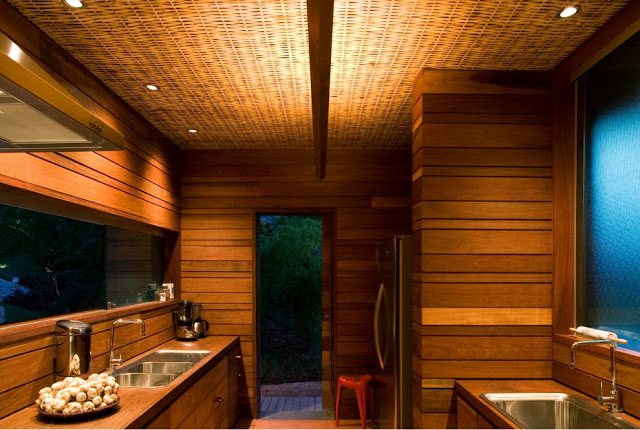 Дизайн частного дома в эко-стиле