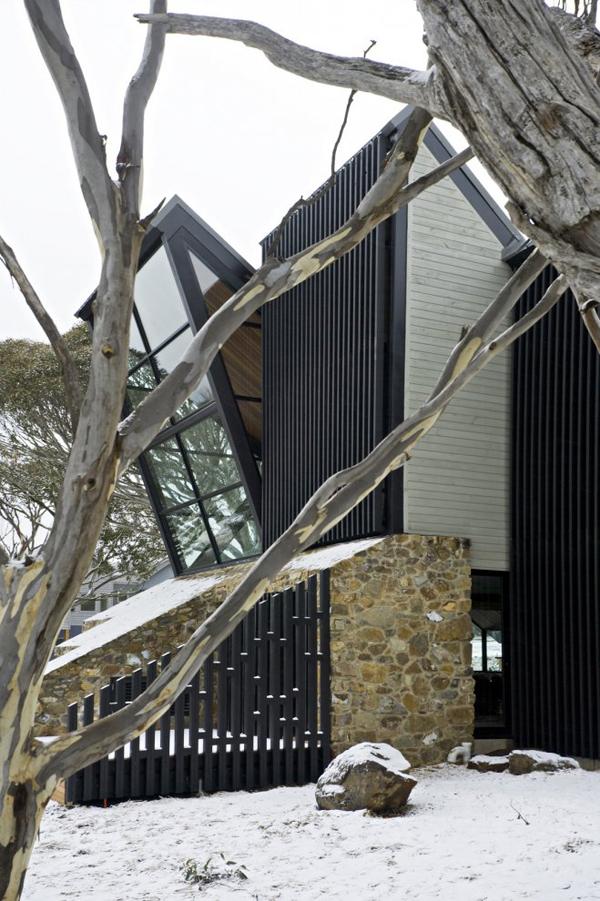 Дизайн фасадов дома в стиле хай-тек