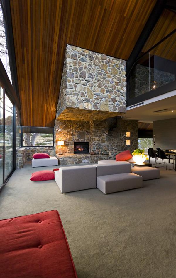 Дизайн интерьера дома в стиле хай-тек