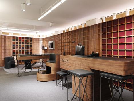 Дизайн зоны ресепшн в интерьере бутика