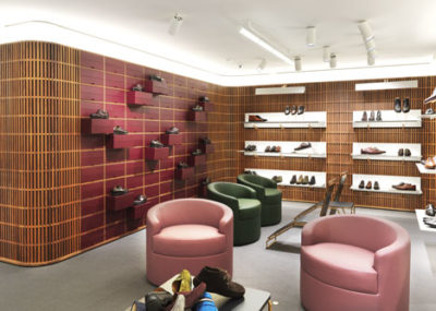 Дизайн интерьера бутика в Лондоне