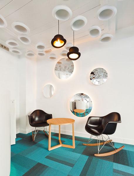 Бирюзовый цвет в дизайне интерьера отеля
