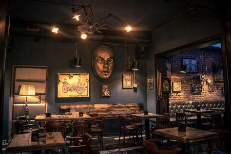 Дизайн интерьера кафе-ресторана в стиле стимпанк