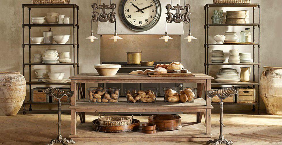 Дизайн интерьера кухни в стиле стимпанк