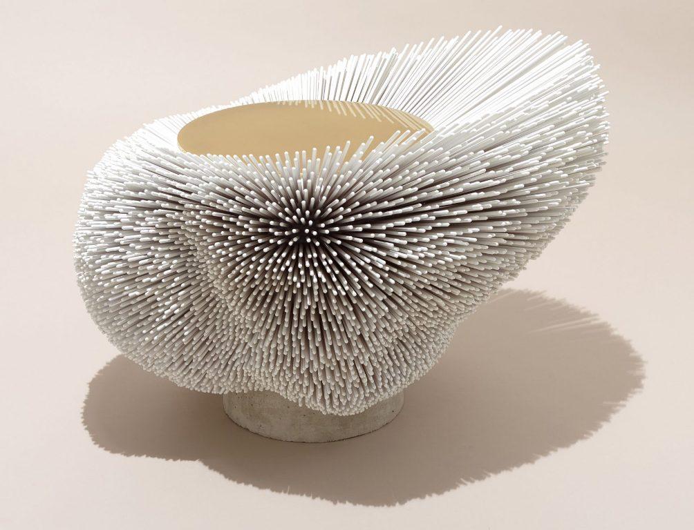 Эксклюзивная дизайнерская мебель из массива дерева - кофейный столик из бука