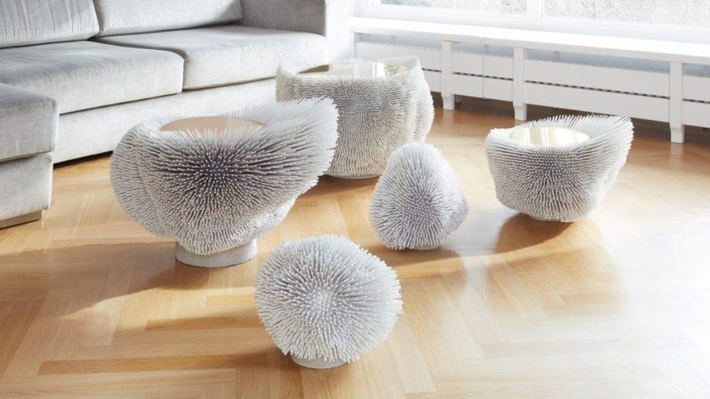 Дизайнерская мебель из массива дерева бука