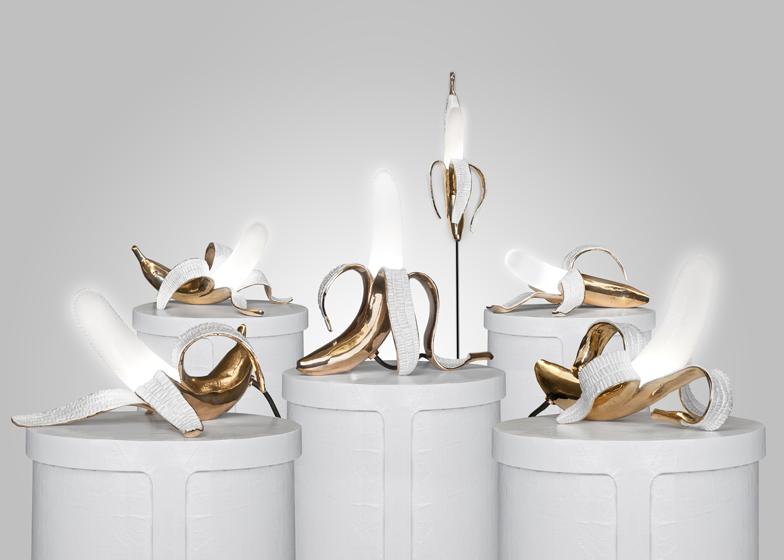 Настольные дизайнерские светильники со светодиодными источниками света