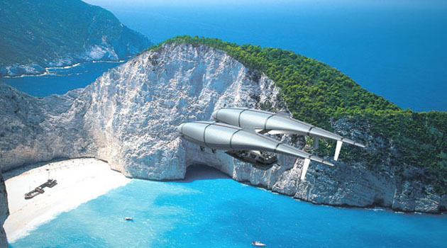 Летающий дом будущего