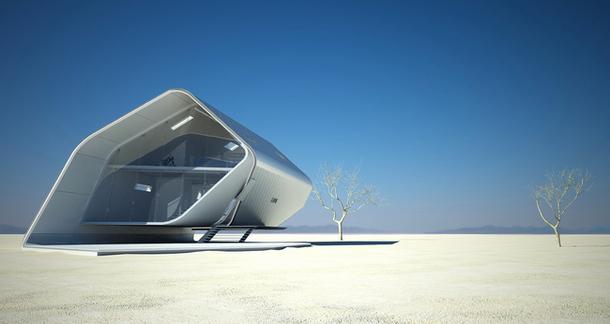 Бионические формы архитектуры в проектах домов будущего