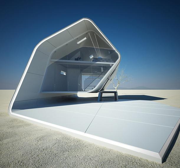Проекты архитектуры будущего для освоения пустыни