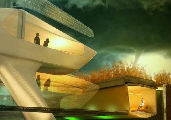 Биоархитектура будущего в проектах частных домов