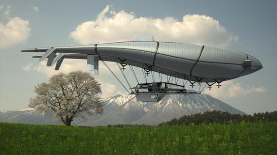 Проект воздушного дома будущего