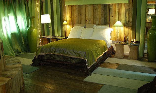 Эко-стиль в дизайне интерьера мини-отеля