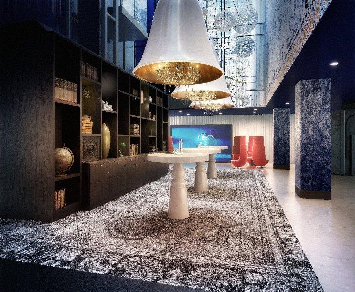 Дизайн интерьеров от Марселя Вандерса для голландского отеля Андаз