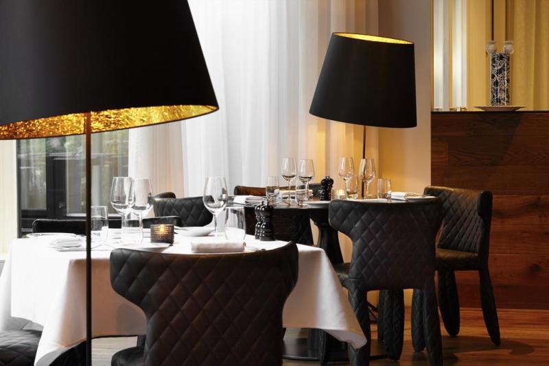 Ресторан в голландском стиле в интерьере отеля Andaz от Марселя Вандерса