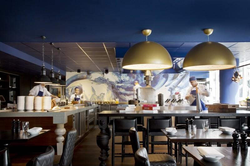Цветовая гамма интерьеров голландского отеля Андаз от Марселя Вандерса