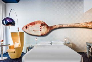 Интерьеры номеров отеля Andaz от Марселя Вандерса