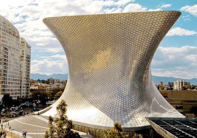 Музей Сумайя в Мехико - проект архитектора Фернандо Ромеро