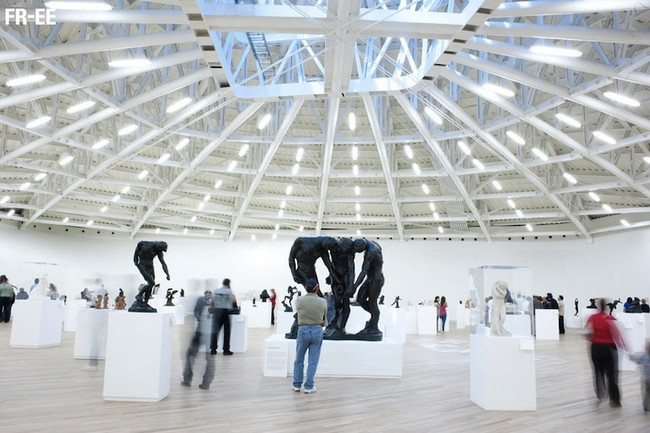 Музей Сумайя (Мехико) внутри