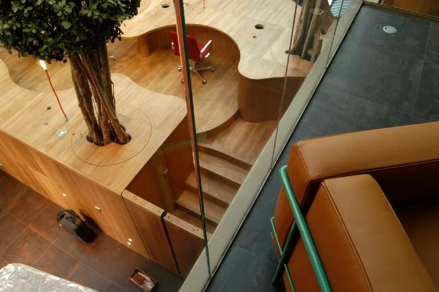 Пример использования ДСП в дизайне офиса