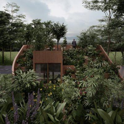 Дизайн фасадов и архитектура по проекту дома 75 кв. м