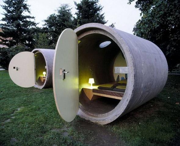 Самый необычный отель в Европе, в Австрии